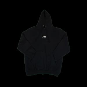 Line Line Branded Hoodie (21/22) Black