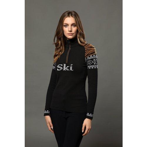 Newland Newland Gladis Sweater (21/22) Black / White-108