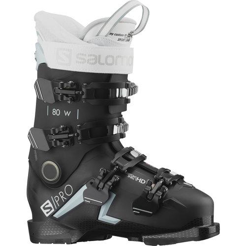 Salomon Salomon S/Pro 80 W Cs Gw Black/Sterli (21/22)