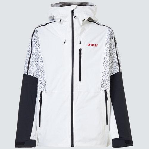 Oakley Oakley Tc Gunn Shell 2L Jacket (21/22) White/Crackle-9Em