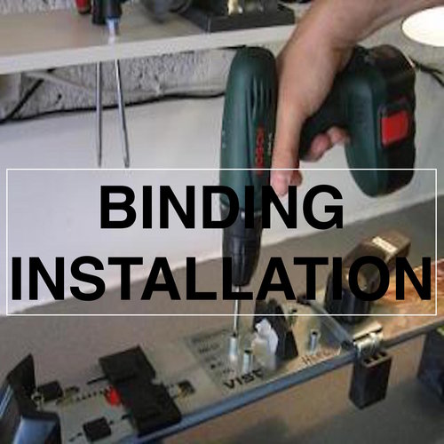 Gates And Boards Binding Installation