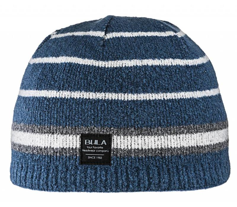 Bula Mens Tom Beanie Navy -Navy (16/17) O/S