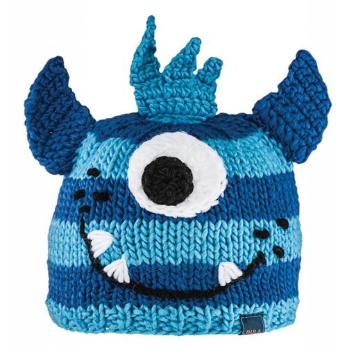 BULA Bula Kids Puppet Beanie Crazy Blue -Crazybl (16/17) O/S *Final Sale*