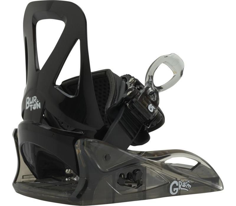 Burton Boys Grom Black Snowboard Binding -001