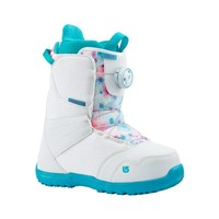 Burton Girls Zipline Boa White/Frostberry Snowboard Boot -116 (17/18)