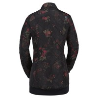 Volcom Womens Casco Down Puff Jkt Black Floral Print -Bfp (17/18)