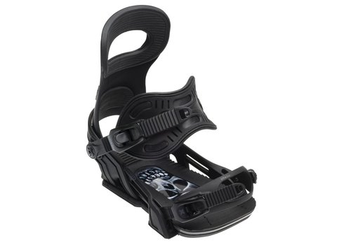 BENT METAL Bent Metal Mens Transfer Snowboard Binding Black - (17/18)