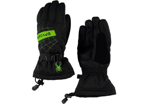 SPYDER Spyder Boys Overweb Ski Glove 018 Black/Fresh - (17/18)