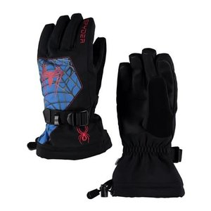 SPYDER Spyder Boys Marvel Overweb Ski Glove 018 Black/Spiderman - (17/18)