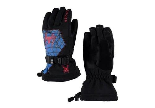 SPYDER Spyder Boys Marvel Overweb Ski Glove 018 Black/Spiderman - (17/18)