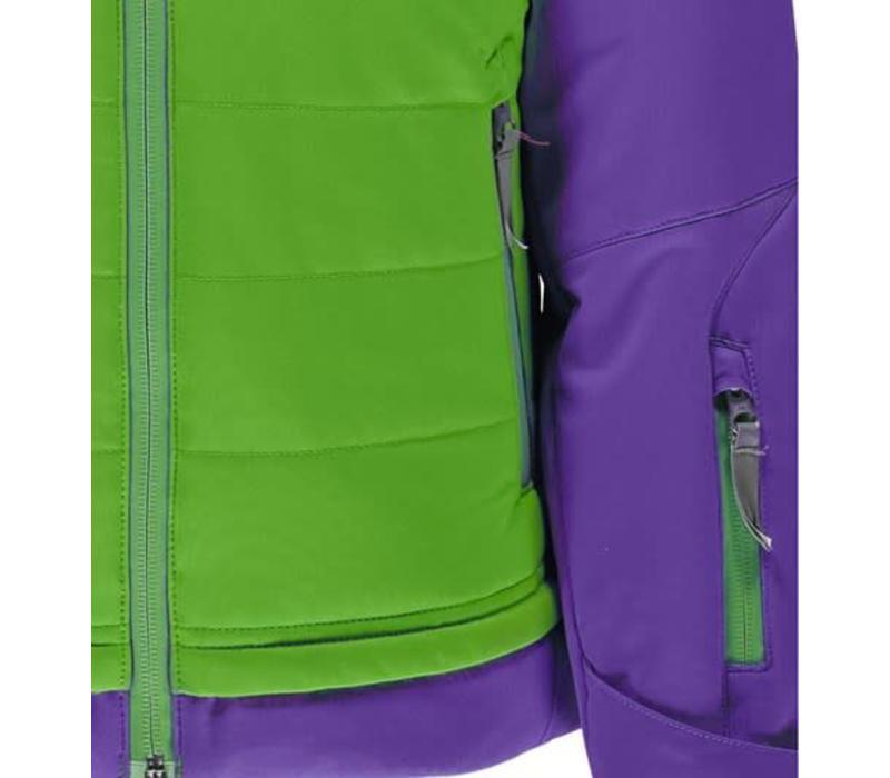 Spyder Girls Moxie Jacket 321 Fresh/Iris - (17/18)