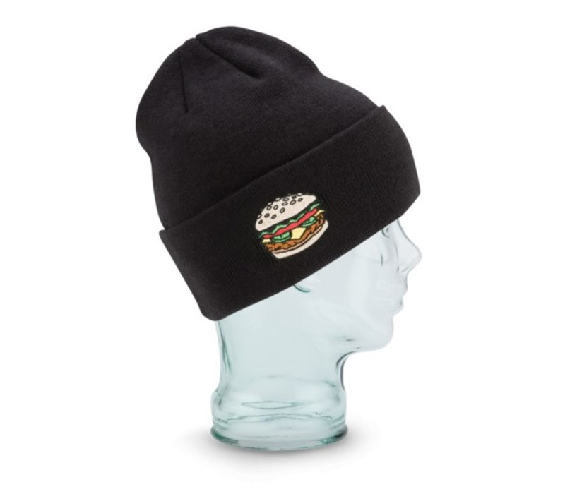 Coal The Crave Beanie Black (Burger) -6 (17/18) OSFM