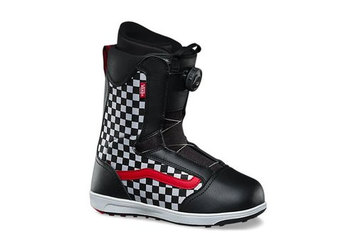 VANS Vans Youth Unisex Brystal Snowboard Boot Black/Checker - (17/18)