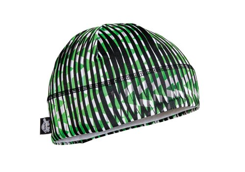TURTLE FUR Turtle Fur Kids Comfort Shell: Brain Shroud Beanie 611 Field Of Greens - (17/18)