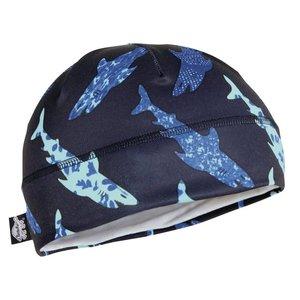Turtle Fur Turtle Fur Kids Comfort Shell: Brain Shroud Beanie 929 Shark Bait - (17/18) *Final Sale*