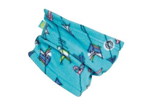 TURTLE FUR Turtle Fur Kids Playful Prints: Single-Layer Neck 623 Wild Child - (17/18)