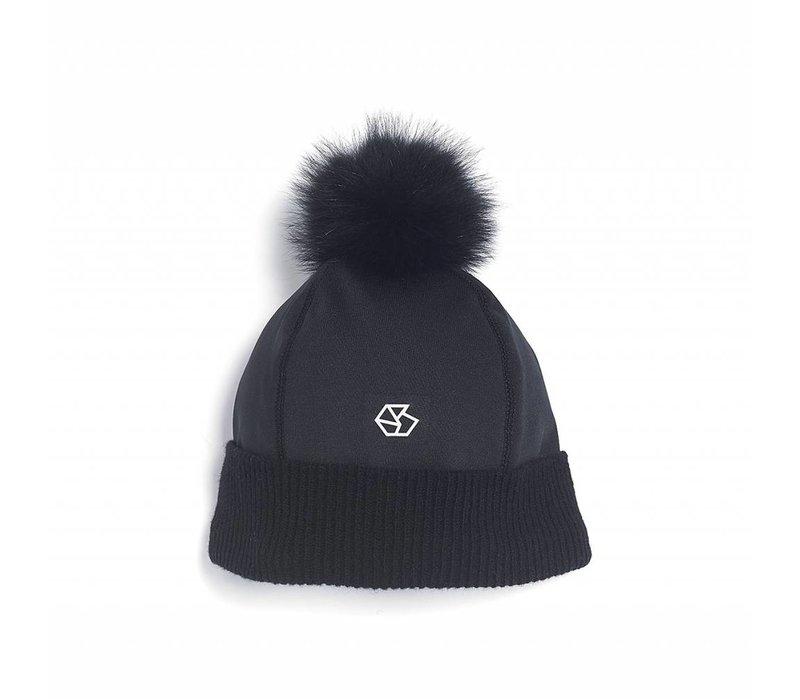 Brume Womens Tremblant Hat Black -01 (17/18) OS