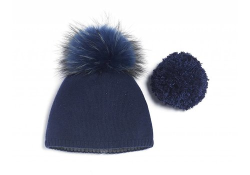 Brume Brume Womens North Twin Hat Navy -09 (17/18) OS
