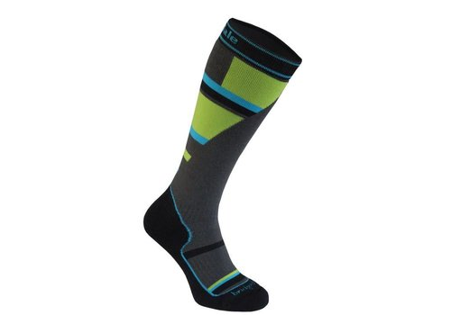 BRIDGEDALE Bridgedale Junior Mountain Junior Sock Grey/Green -068 (17/18)