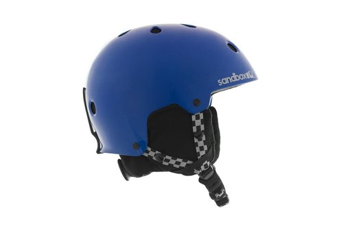 SANDBOX Sandbox Jr Legend Ace Helmet Electric Blue (Gloss) - (17/18) KIDS