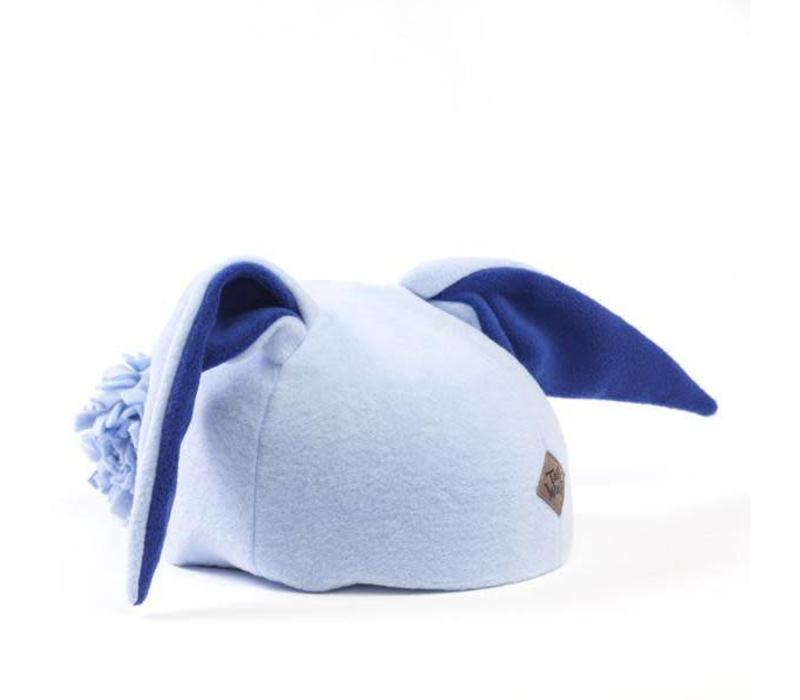 TAIL WAGS BUNNY HELMET COVER (BLUE) - CHILD SIZE BOYS & GIRLS