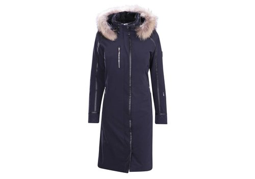 DESCENTE Descente Ladies Quebec Long Coat Bk- Black -93