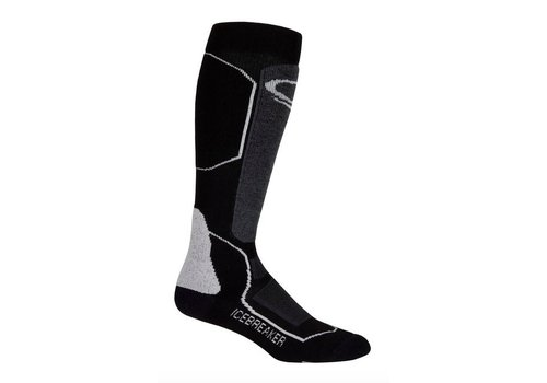 ICEBREAKER Icebreaker Mens Ski+ Medium Otc Black/Oil/Silver -A73 (17/18)