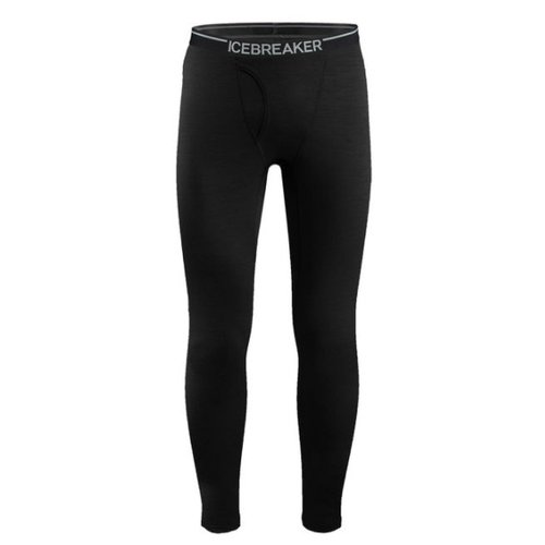 ICEBREAKER Icebreaker Mens Oasis Leggings W Fly Black -1 (17/18)