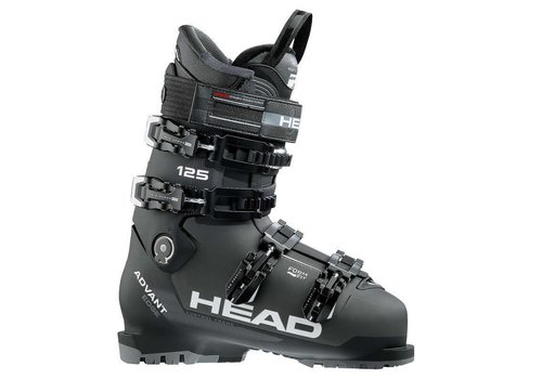 HEAD Head Mens Advant Edge 125 Ski Boot Anthracite/Blk - (17/18)