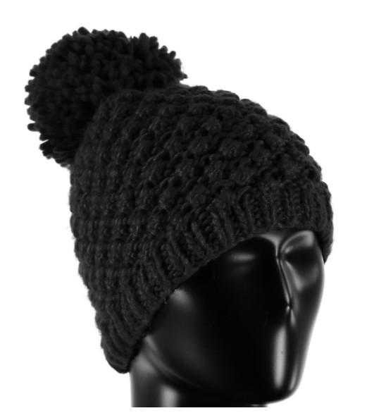 Spyder Womens Brrr Berry Hat 001 Black - (17 18) ONE SIZE b4828cca72b3