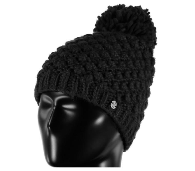 Spyder Womens Brrr Berry Hat 001 Black - (17/18) ONE SIZE