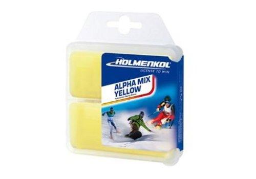 HOLMENKOL Holmenkol Alphamix Yellow 2X35G