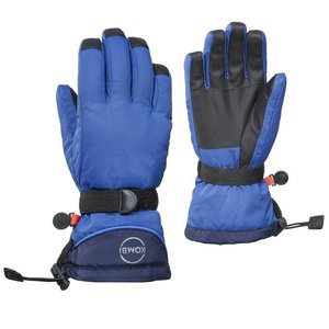 KOMBI Kombi The Basic Junior Glove 3180 True Blue-Black Iris - (17/18)