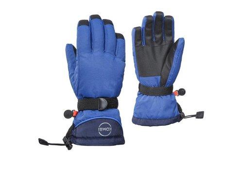 KOMBI Kombi The Basic Junior Glove 3180 True Blue-Black Iris - (17/18)