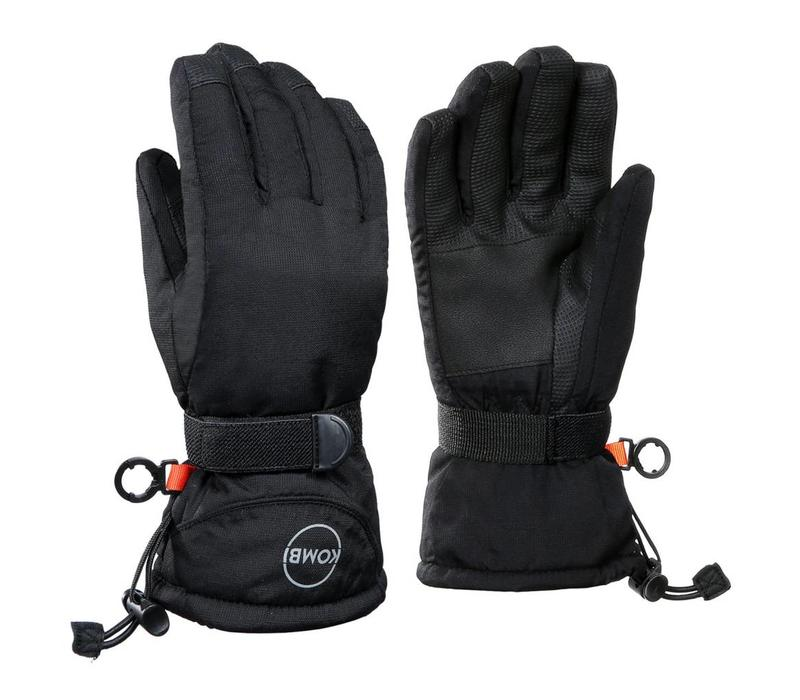 Kombi The Basic Junior Glove 100 Black - (17/18)