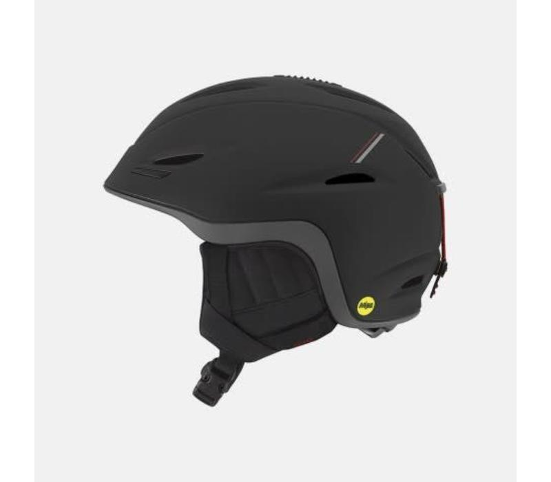 Giro Mens Union Mips Helmet Matte Black/Red Sport Tech - (17/18)