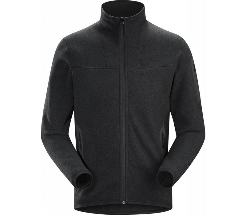 Arc'Teryx Covert Cardigan Mens Black Heather