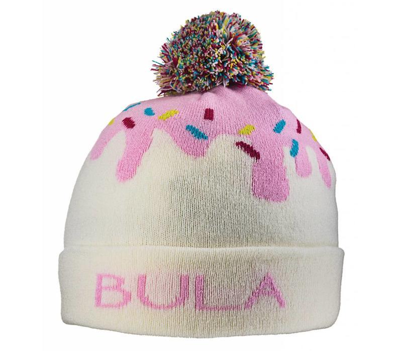 BULA KIDS ICE CREAM BEANIE IVORY