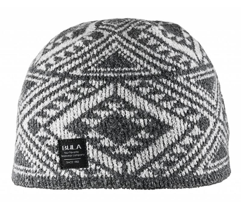 BULA AARON BEANIE HEATHER GREY
