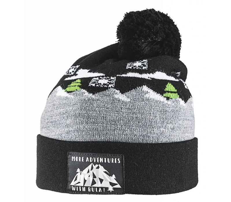 BULA KIDS WINTER BEANIE BLACK