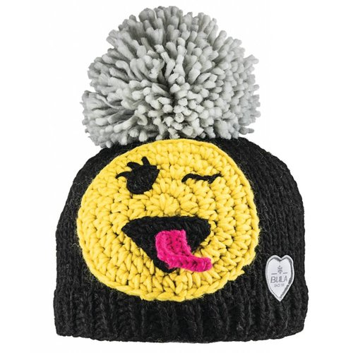 BULA Bula Kids Happy Beanie (20/21) Black OS *Final Sale*