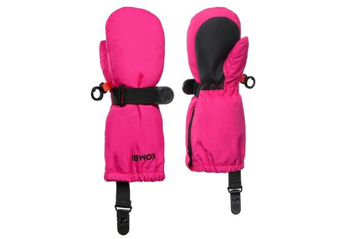 KOMBI KOMBI THE CRAZY CARIBOO CHILDREN MITT 340 MAGENTA