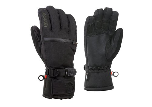 KOMBI KOMBI THE FREERIDER MENS GLOVE 100 BLACK