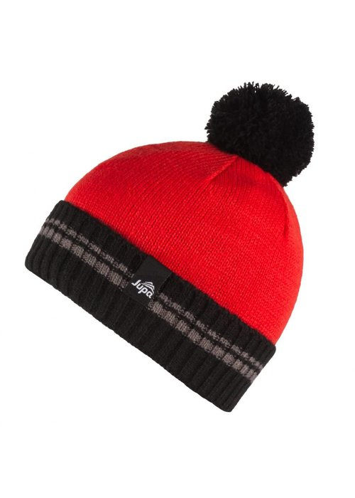 JUPA JUPA KIDS BOYS EDDY KNIT HAT FIERY RED-RD027