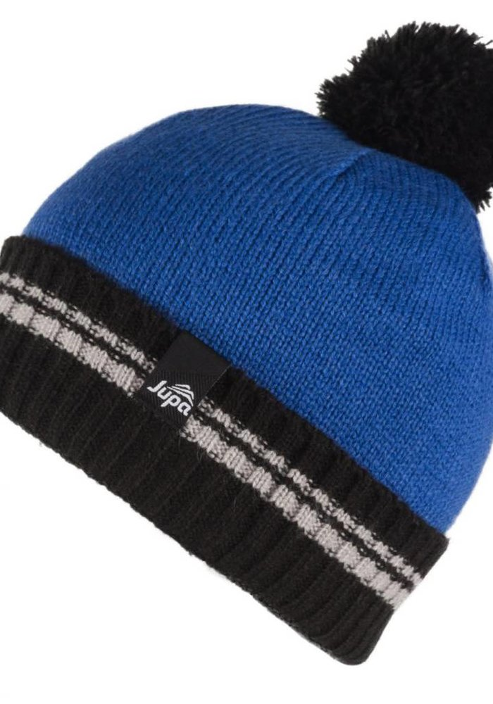 JUPA KIDS BOYS EDDY KNIT HAT VIKING BLUE-BL362