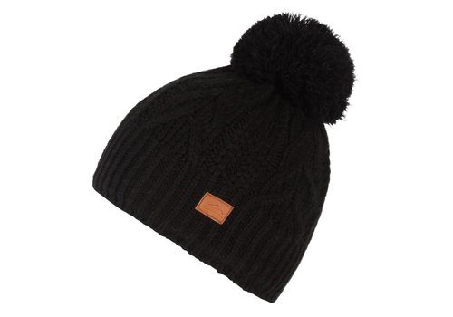 JUPA JUPA JUNIOR GIRLS EMMY KNIT HAT BLACK-BK001