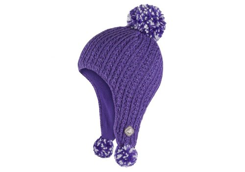 JUPA JUPA KIDS GIRLS LAYLA KNIT HAT GIVERNY VIOLET-PK085