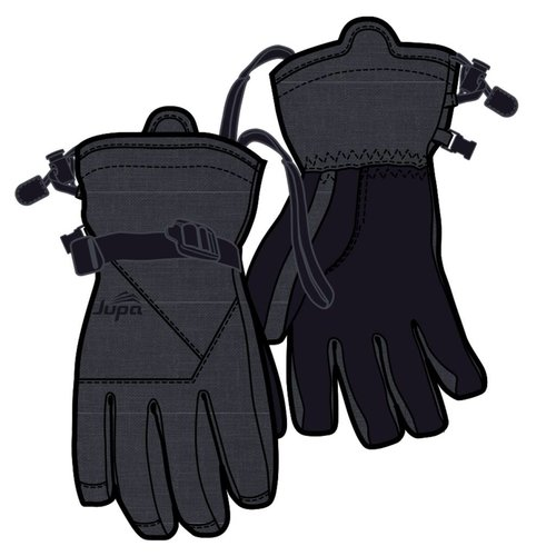 JUPA JUPA KIDS BOYS CASEY INSULATED GLOVES DARK GREY DENIM PRINT-DGM-A11