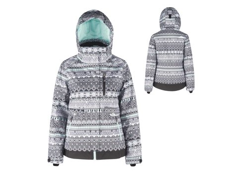 JUPA JUPA JUNIOR GIRLS GRACE JACKET SEA FOAM PRINT-GR255-A9