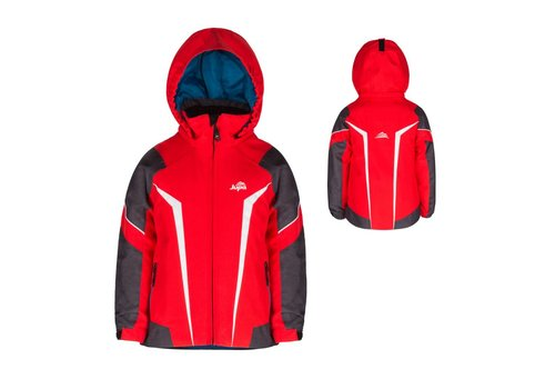 JUPA JUPA JUNIOR BOYS LOUKA JACKET FIERY RED-RD027